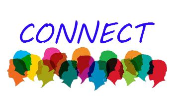 Meeting logo, connect