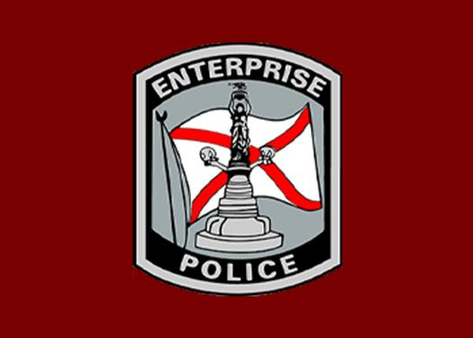 Police officers of the Enterprise Police Department