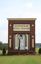 Enterprise Alabama Civic Center Signage